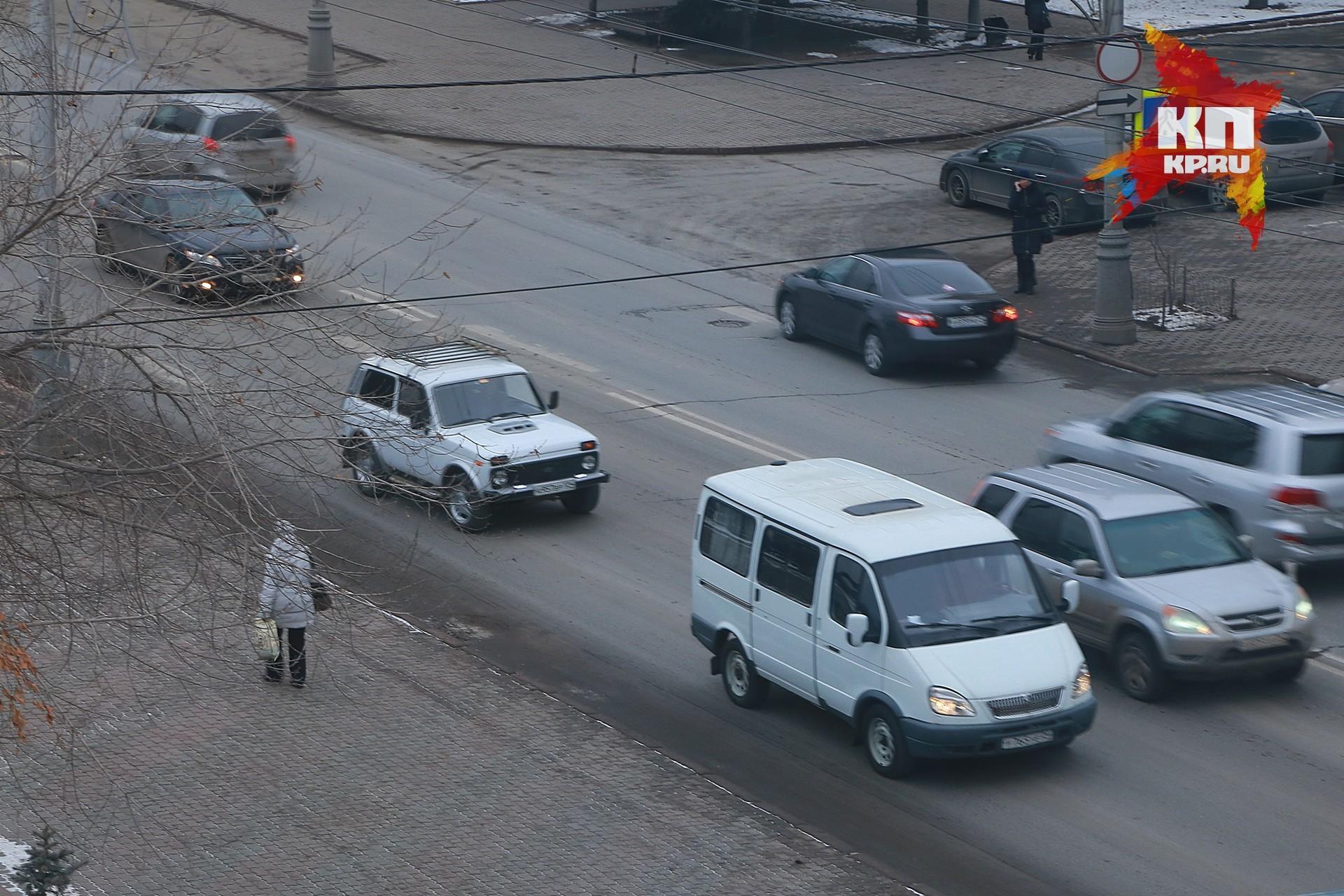 ВКрасноярске дорожники готовятся кглобальному ремонту