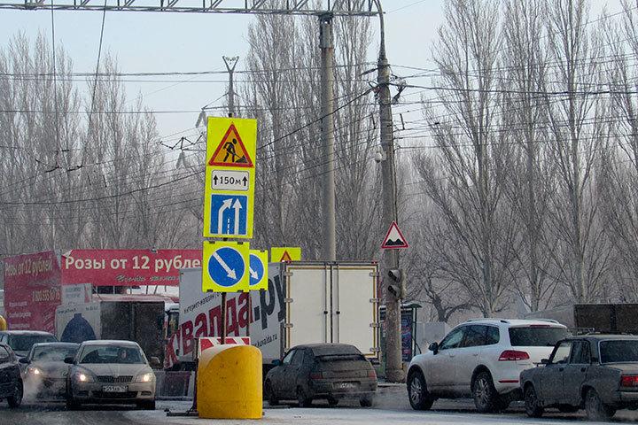 Дорогу напересечении столичное шоссе иЛуначарского перекроют уже вначале весны
