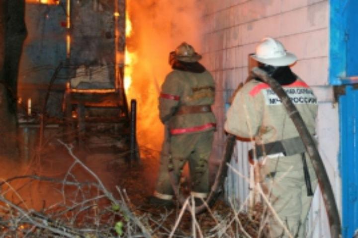 Вкрупном пожаре натурбазе под Воронежем пострадал тридцатидевятилетний мужчина