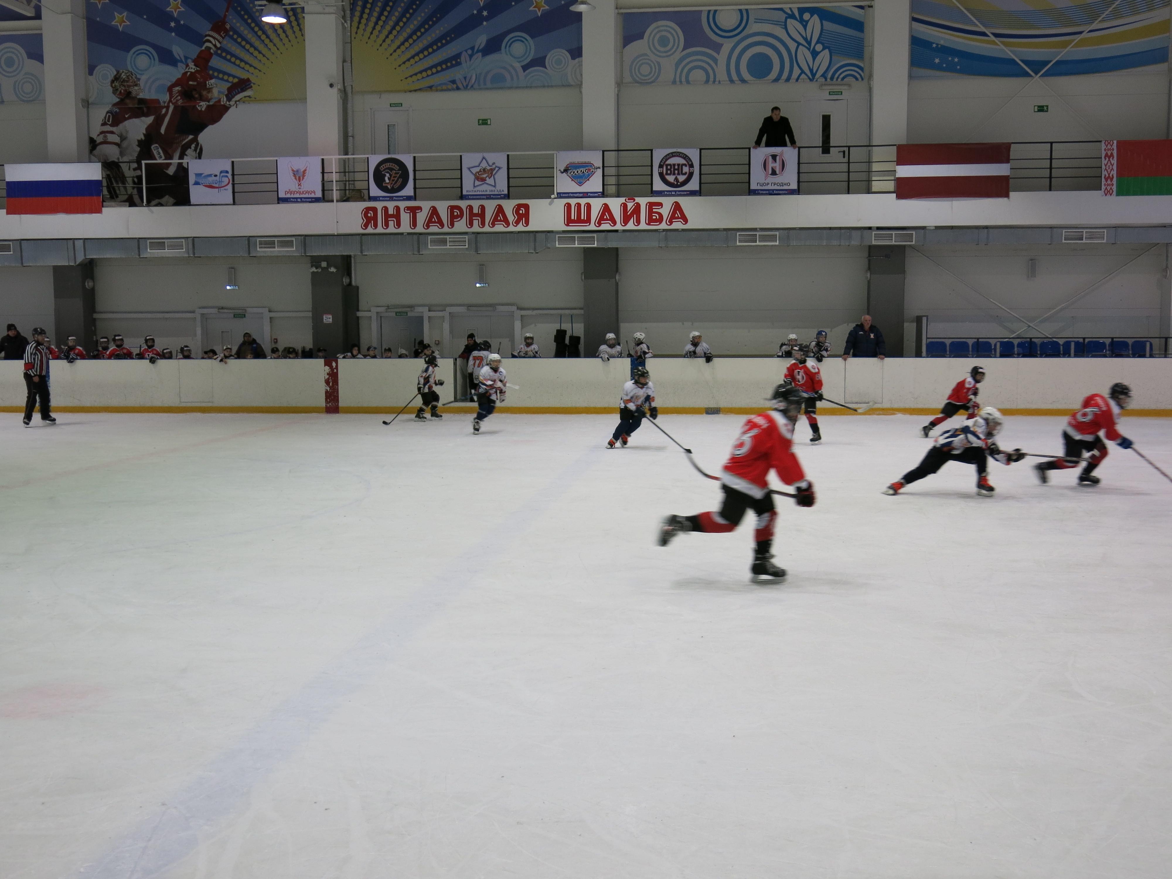 Молодые калининградские хоккеисты выиграли международный турнир