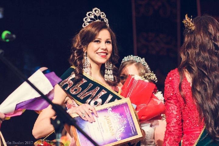 Уфимка стала владелицей Гран-при Республиканского конкурса красоты «Хылыукай-2017»