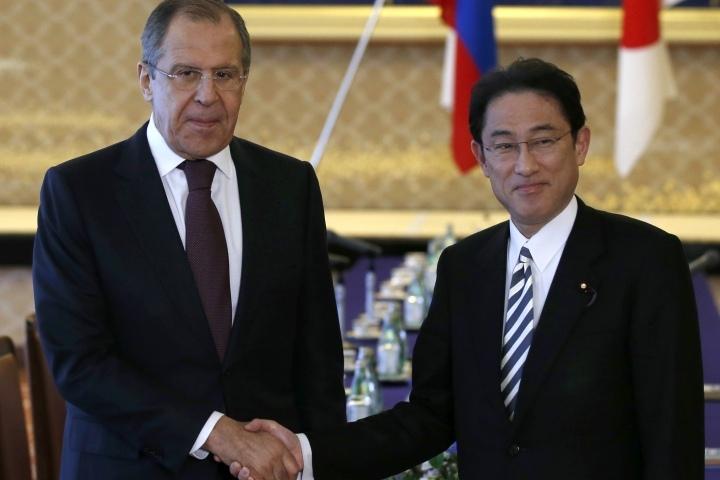 Лавров подтвердил готовность РФ  ксотрудничеству сЯпонией наКурилах