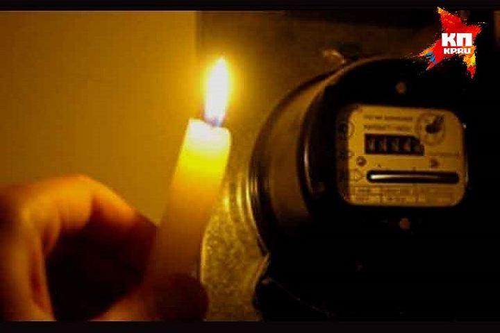 Три района Петербурга остались сегодня без электричества