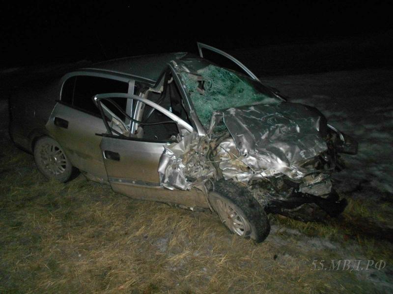 36-летний шофёр авто умер после столкновения сDAF под Омском