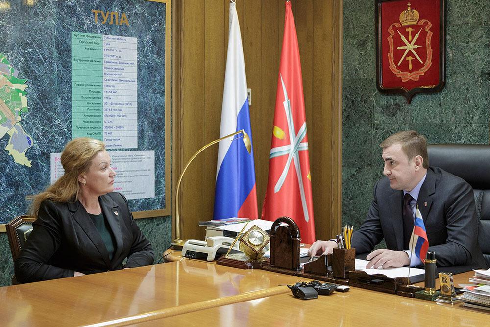 Ольга Аванесян покинула пост министра здравоохранения Тульской области