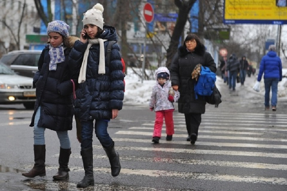 ВКазани шофёр сбил девочку и исчез сместа ДТП