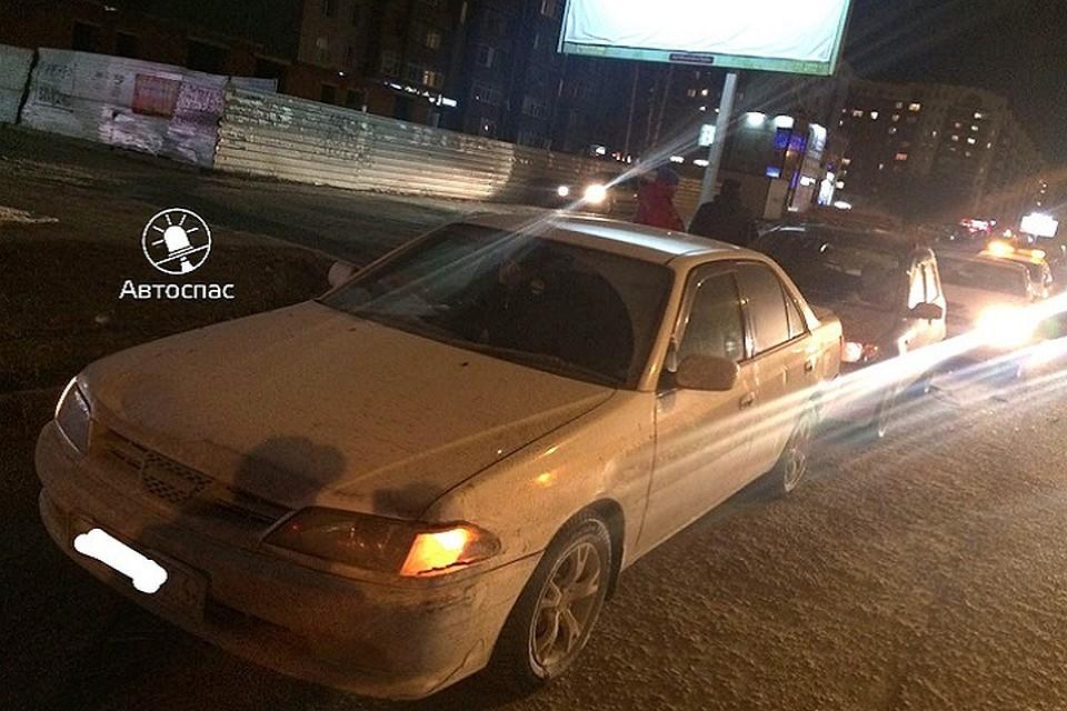 Уснувший нетрезвый шофёр Ниссан устроил массовое ДТП