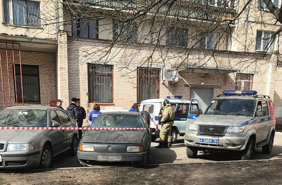 Напроспекте Культуры вПетербурге жильцы дома были эвакуированы из-за огнетушителей