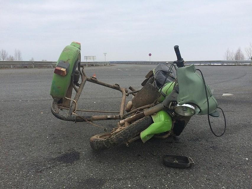 Двое мотоциклистов погибли вДТП вУдмуртии— ГИБДД