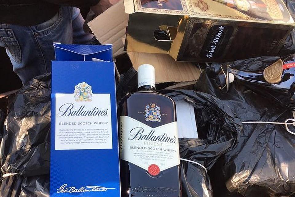 ВПриморье невпустили 220 литров дорогого алкоголя изЯпонии