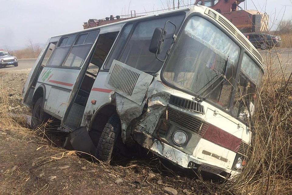 Ленинское: 11 человек пострадало вДТП срейсовым автобусом натрассе Биробиджан
