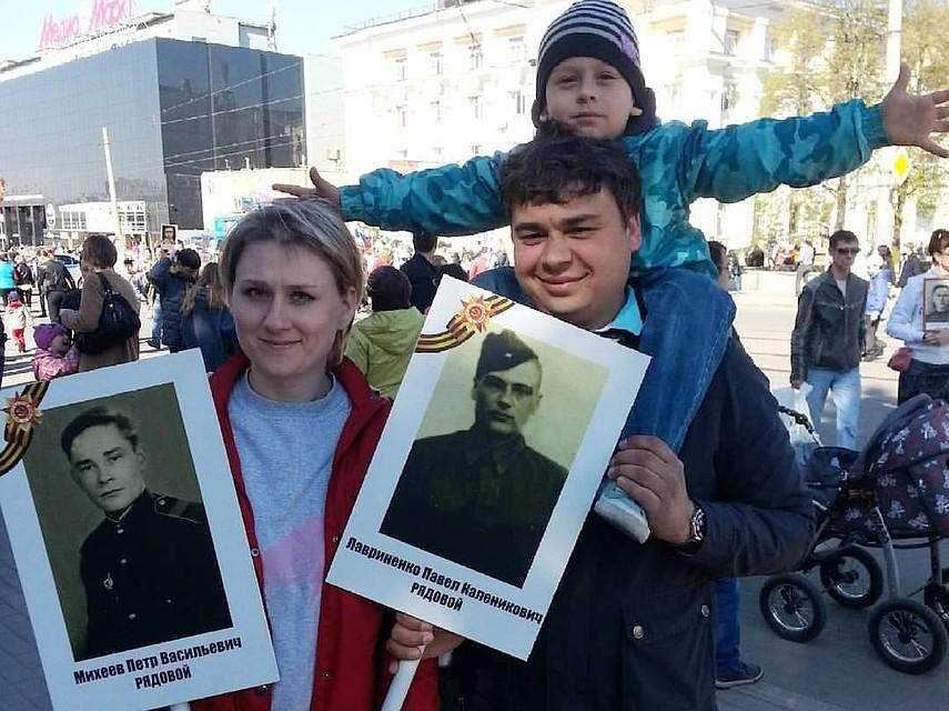 Нашествии вечного полка вЧелябинске пронесут копию Флага Победы