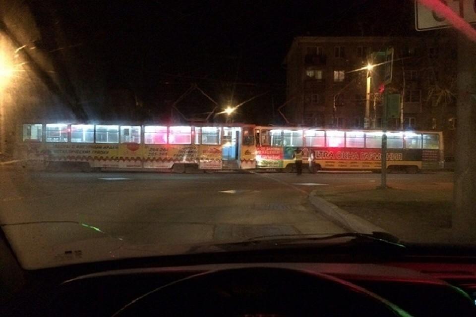 ВЧереповце случилось лобовое ДТП 2-х пассажирских трамваев