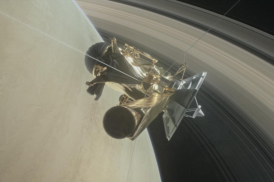 Зонд Cassini сообщил наЗемлю последние фотографии Титана