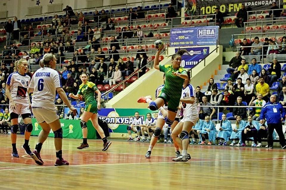 ГК «Кубань» обыграл «Динамо-Синару» вовтором матче плэй-оффЧР