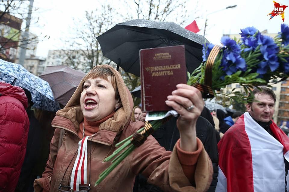 В годовщину трагедии на ЧАЭС в Минске состоялось традиционное шествие
