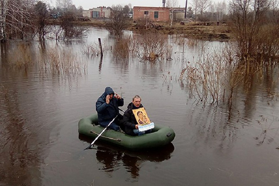 Граждане села Большие Уки попросили помощи вборьбе сгрызунами у Творца