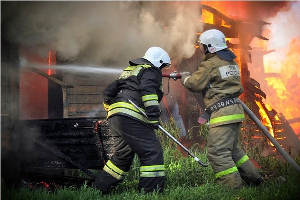 Старая пара погибла впожаре вТомской области