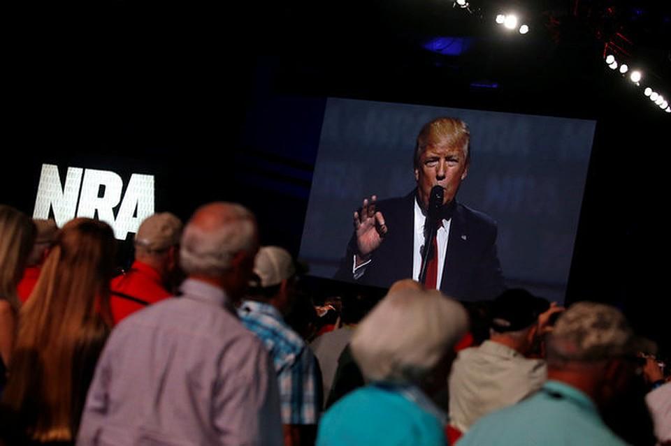 Трамп объявил, что жители должны иметь право наношение оружия