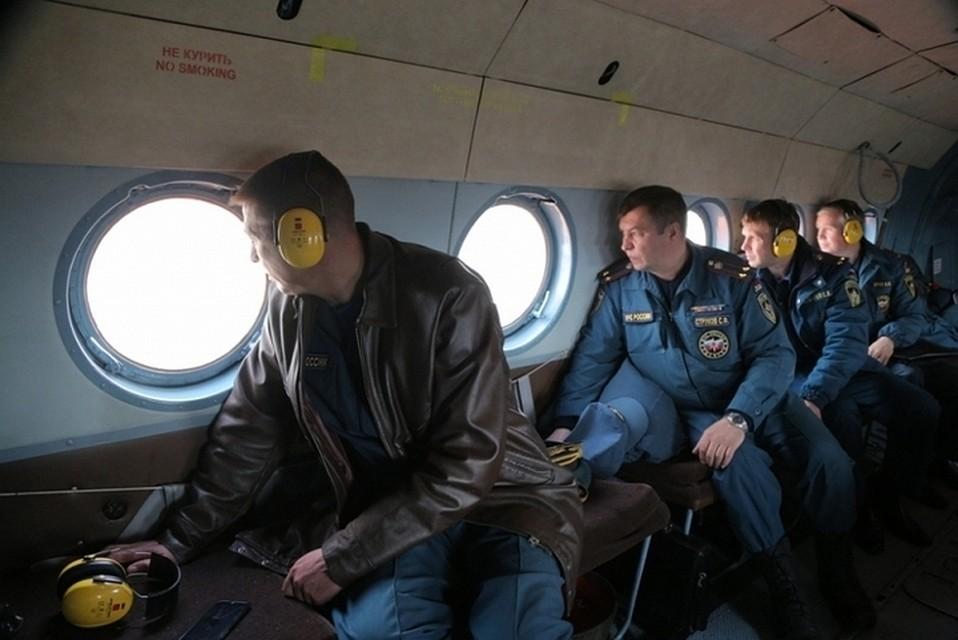 Наликвидации лесных пожаров вКрасноярском крае работают почти тридцать тыс. человек