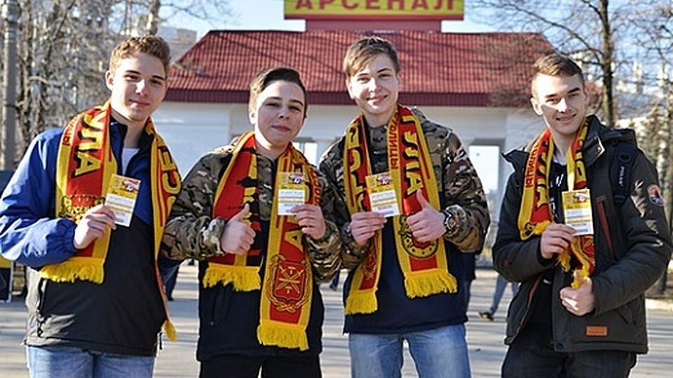 Завтра тульский «Арсенал» сыграет с«Амкаром»