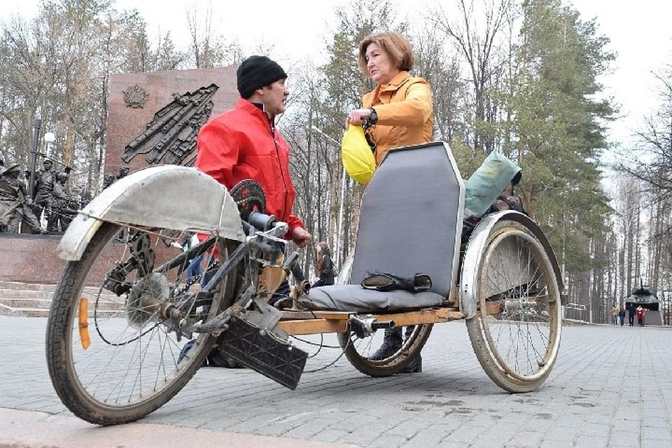 Гражданин Башкирии, отдельно совершивший велопутешествие вКазахстан, вернулся вУфу