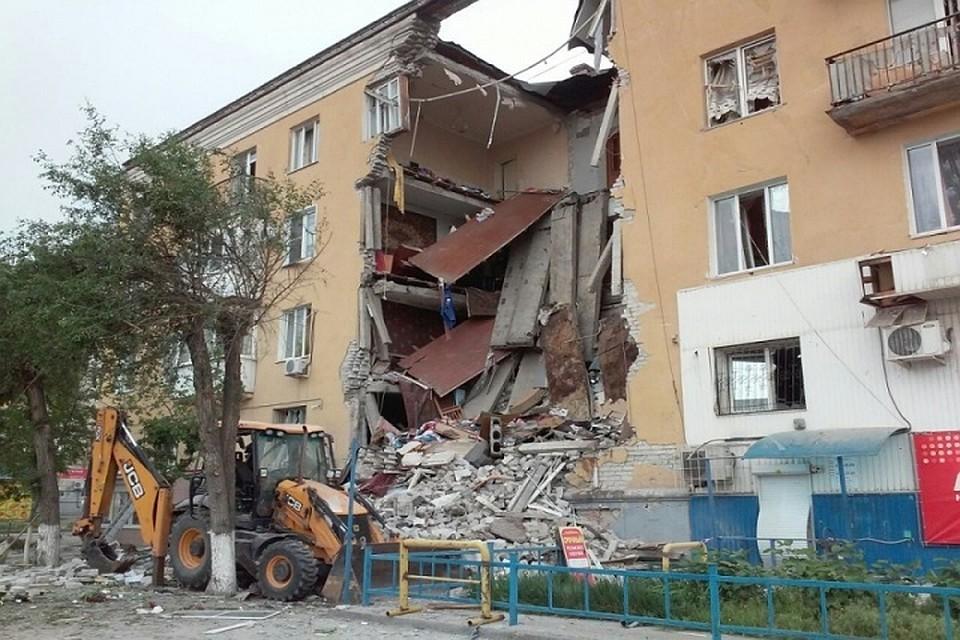 ВВолгограде поделу овзрыве вжилом доме задержаны три человека
