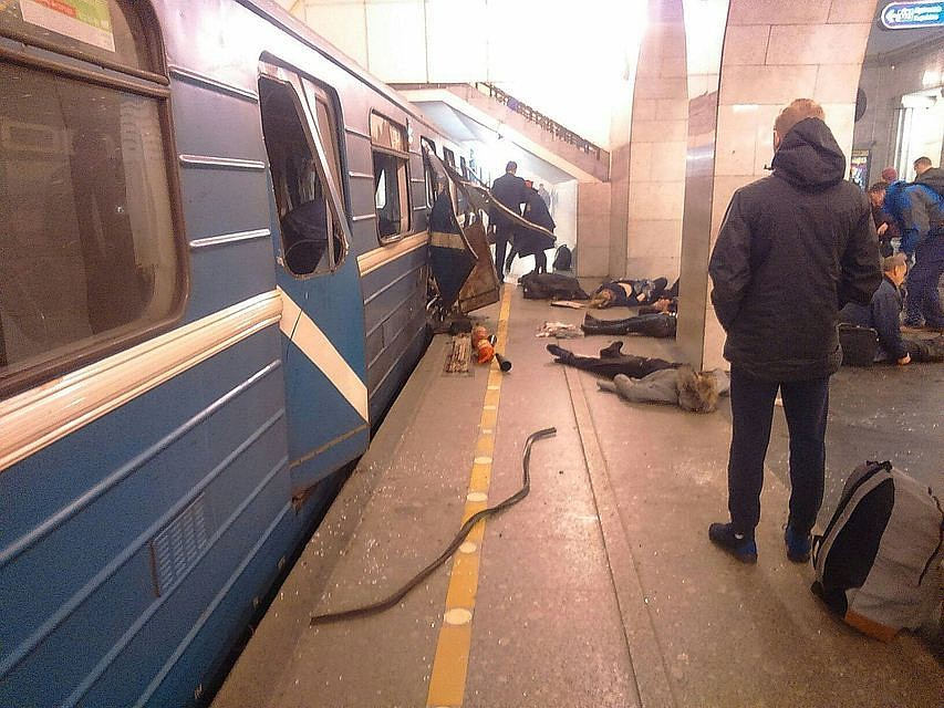 Теракты вПетербурге иСтокгольме мог заказать один человек