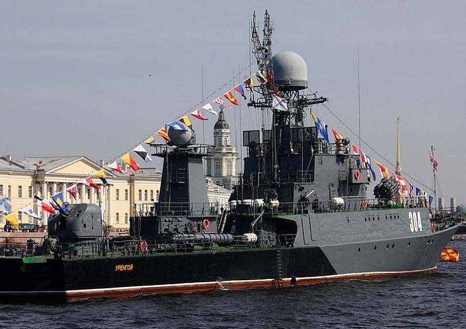 Владимир Путин поздравил моряков сДнём Балтийского флота