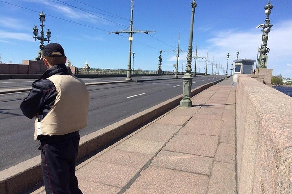 ЧПнаТроицком мосту спровоцировало транспортный коллапс вцентре Петербурга