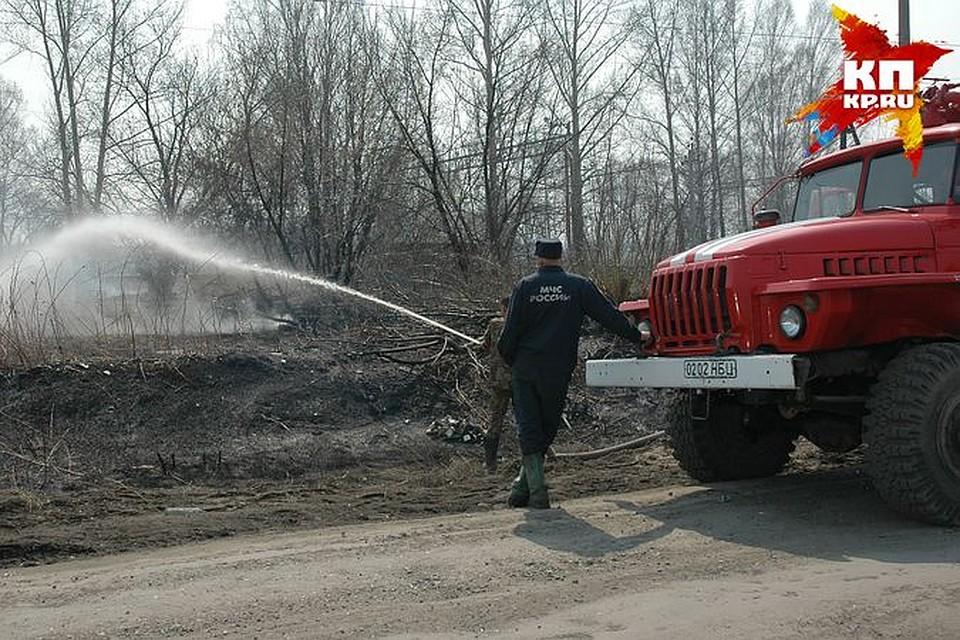 5 дачных домов уничтожены при пожаре вНовосибирской области