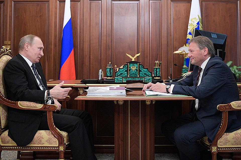Путин продлил Титову полномочия бизнес-омбудсмена
