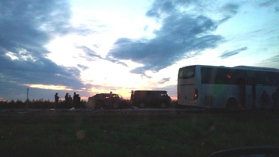 Два человека погибли вДТП вАлнашском районе