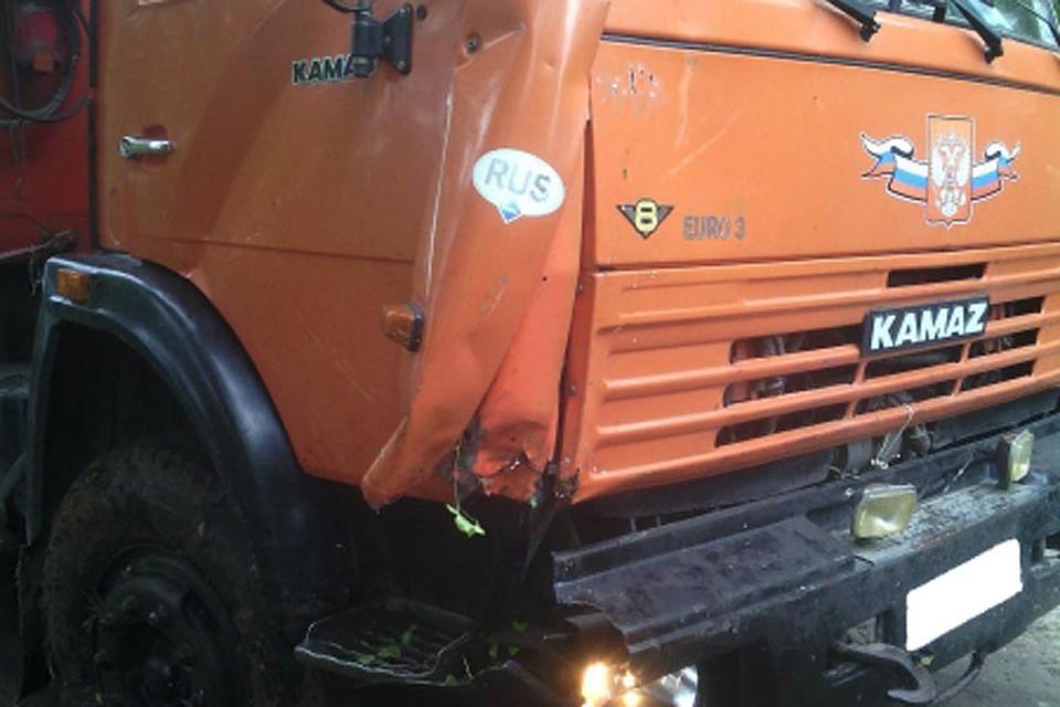 ВТамбовской области натрассе отыскали труп водителя «КамАЗа»