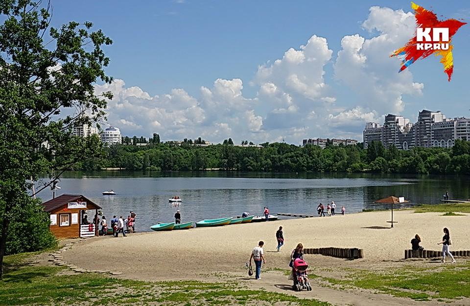 Вворонежском парке «Алые паруса» благоустроят берег