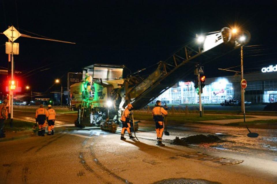 Доконца лета вСтаврополе ночами починят 21км городских дорог