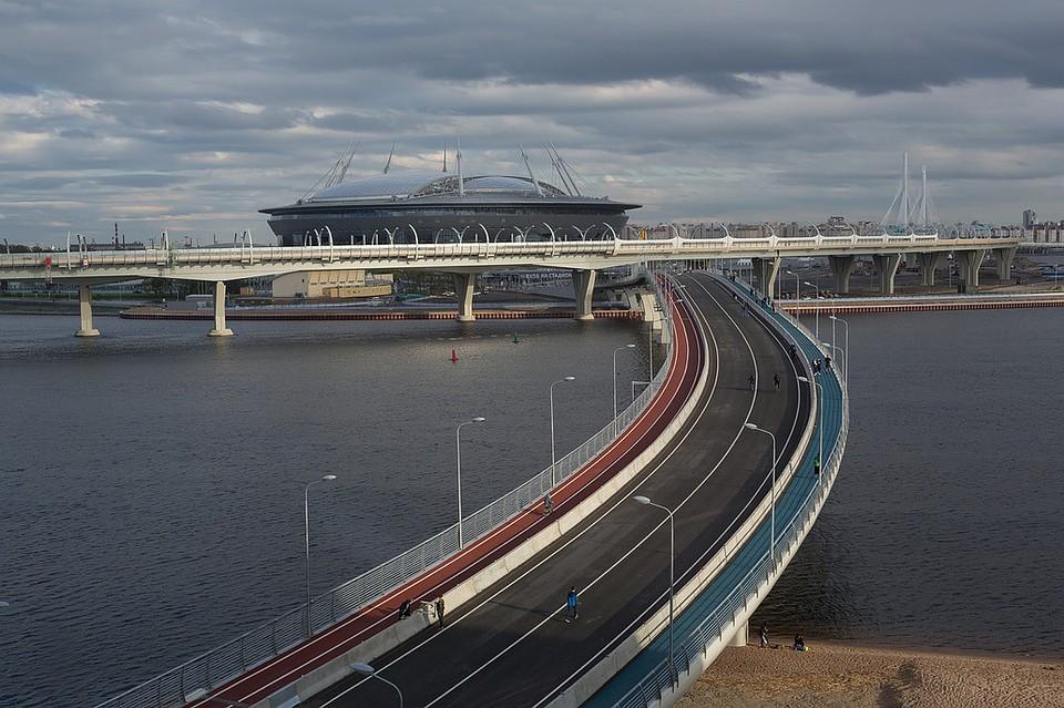 ВПетербурге Яхтенный мост закрыли на11 дней