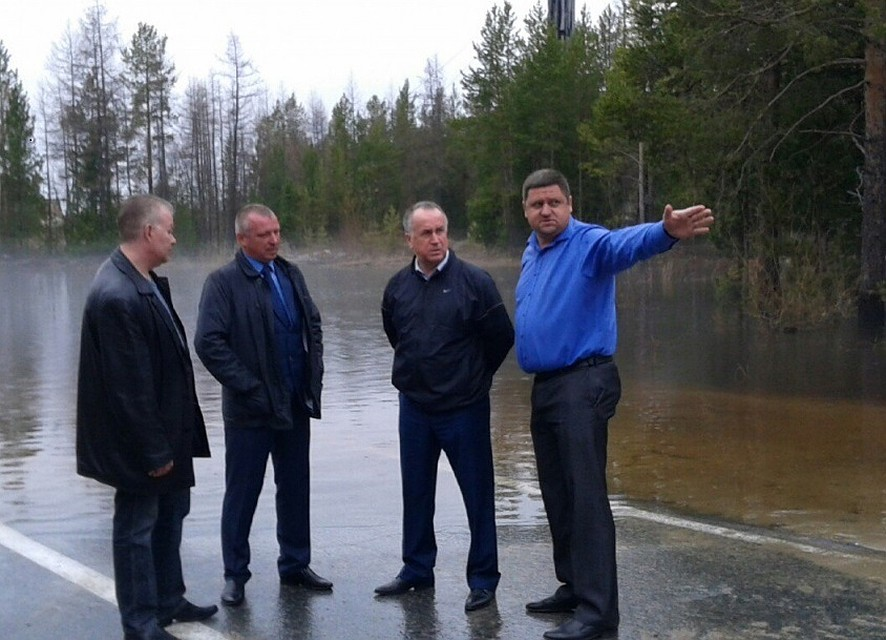 Дорога Надым— Новый Уренгой закрыта из-за паводка