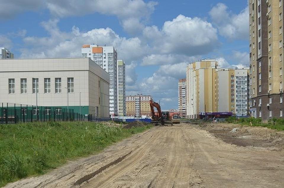 Строительство дороги наулице Николая Зелинского началось вТюмени