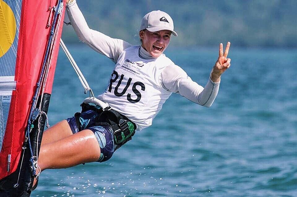 Ейчанка Елфутина взяла бронзу Кубка мира попарусному спорту