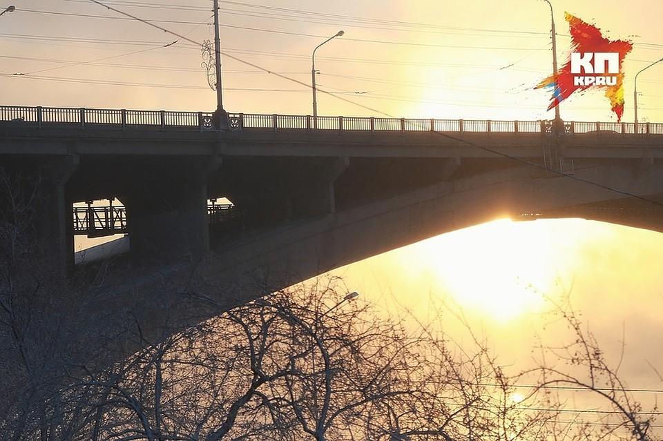ВКрасноярске перекрывают Коммунальный мост иул.Дубровинского
