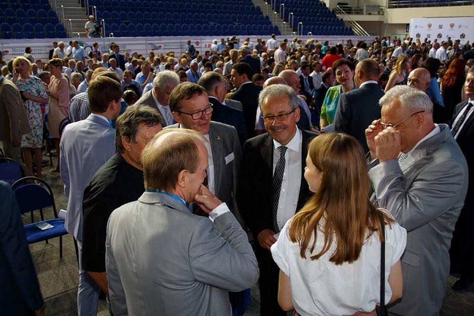 Среднерусский Экономический форум можно посмотреть онлайн