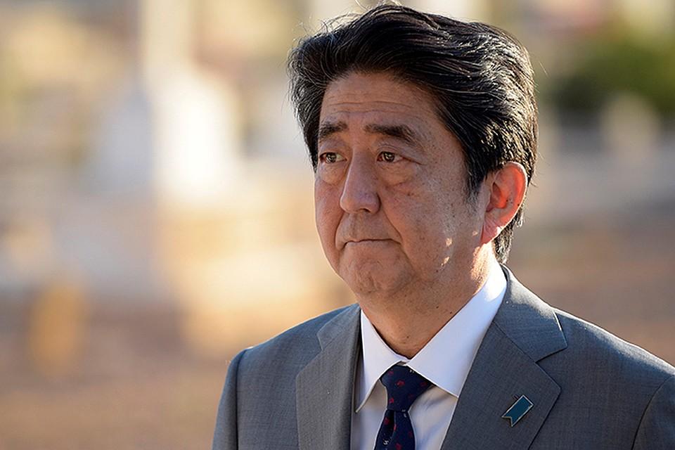 Абэ объявил  онамерении обсудить сПутиным вопрос Курил насаммите G20