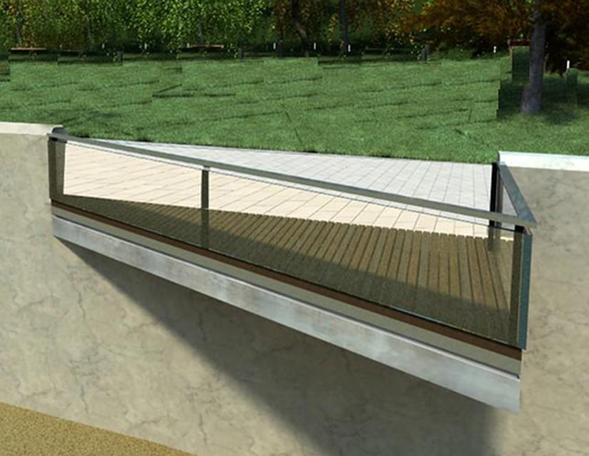В2015г. нанабережной будут оборудованы смотровые балконы