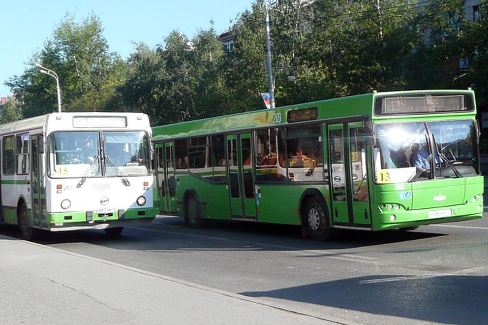 ВТюмень привезли новые автобусы