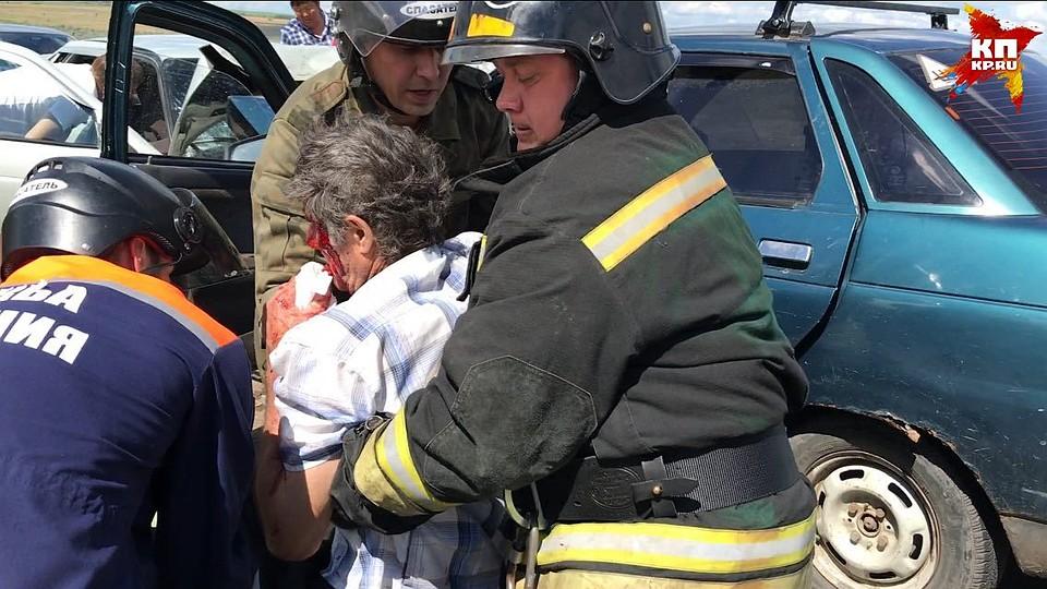5 человек пострадали втройном ДТП натрассе вТатищевском районе