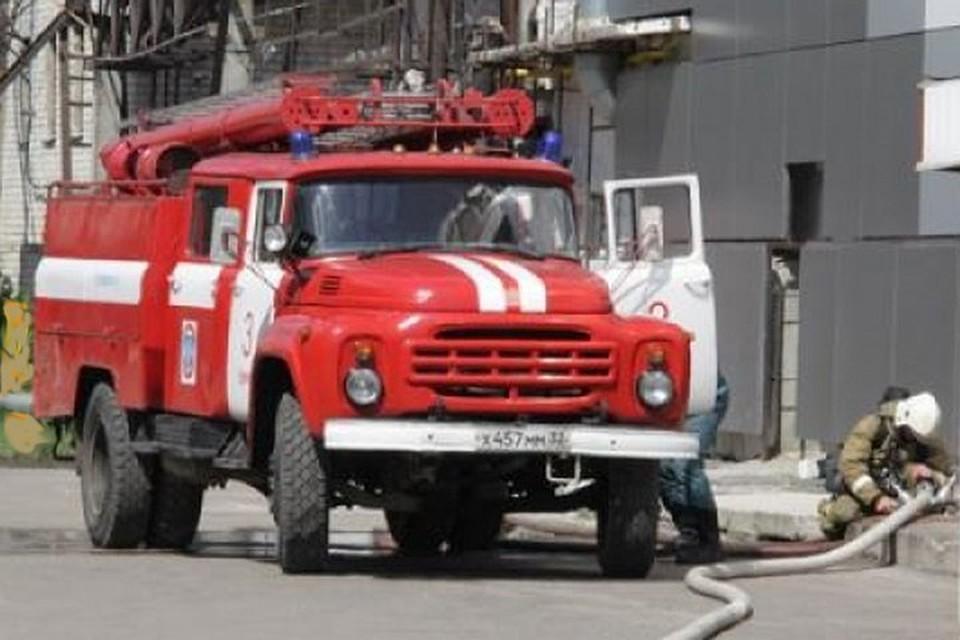 ВБрянске впериод движения зажегся грузовой автомобиль