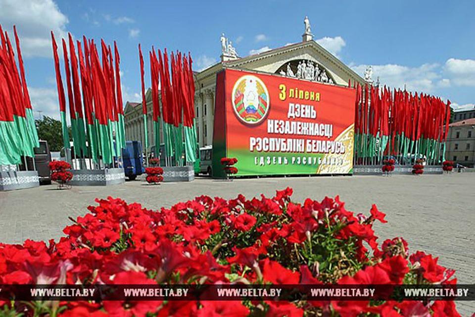 Путин поздравил Лукашенко сДнём независимости Республики Беларусь