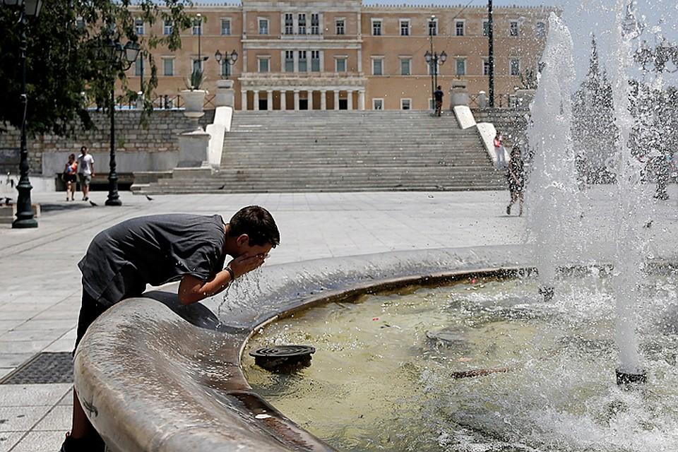 Жара вГреции достигла аномальных значений