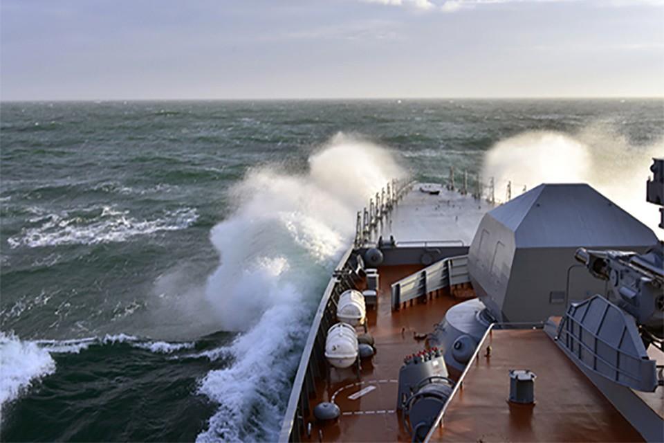 Корабли Тихоокеанского флота отразили ракетный удар «противника»